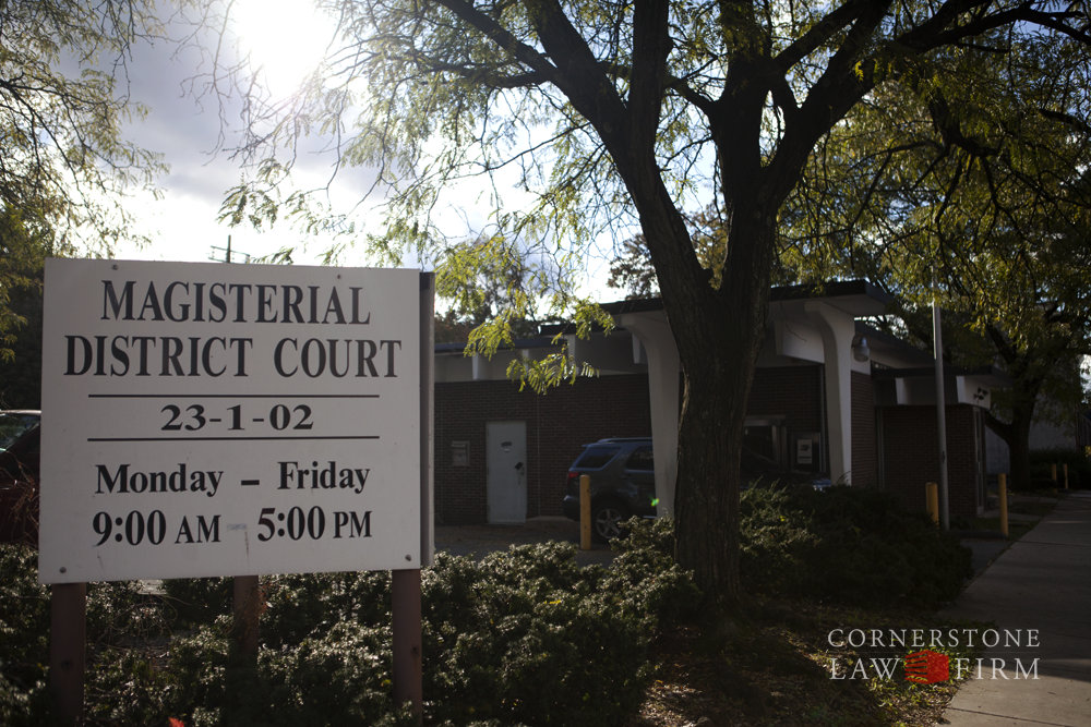 Magisterial District Court 23-1-02